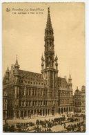CPA - Carte Postale - Belgique - Bruxelles - Grand Place (CP3615) - Marktpleinen, Pleinen