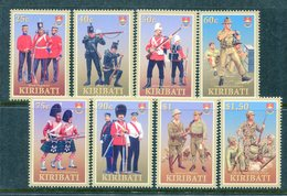 Kiribati 2007 Military Uniforms Set MNH (SG 802-09) - Kiribati (1979-...)