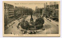 CPA - Carte Postale - Belgique - Bruxelles - Place De Brouckère (CP3616) - Marktpleinen, Pleinen