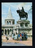Hungría. Budapest *St. Stephen Monument...* Foto: MTI Sziklai Dezsö. Circulada 1970. - Hungría