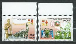 Vietnam Viet Nam.60th Founding Anniversary Of People's Police MNH - Vietnam