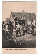 Nr.+  521,  Feldpost,  Französisches Dorf - War 1914-18