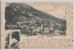 Untervaz - Generalansicht, Kirche - Photo: Carl Künzli - GR Grisons
