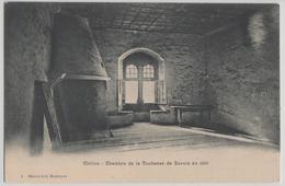 Chillon - Chambre De La Duchesse De Savoie En 1336 - Photo: Marmillod - VD Vaud