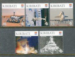 Kiribati 2009 International Year Of Astronomy Set MNH (SG 858-62) - Kiribati (1979-...)