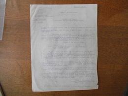 16 MARS 1942 PREFECTURE DE L'AISNE LAON BUREAU DU PAIEMENT DES REQUISITIONS ALLEMANDES LENZ INTENDANT GENERAL HENRY CADO - Historische Dokumente