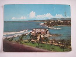CPSM Ile Des CARAIBES  PORTO-RICO - San Juan - Entrée Du Port  19.. Laboratoires IONYL LA BIOMARINE  DIEPPE - Postcards
