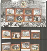 INDIA.Mahatma Gandhi: Civil Disobedience Movement 1942, For Independence Of India. MS + Full Mint ** Set. Year 2017 - Mahatma Gandhi