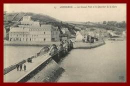 Audierne * Le Grand Pont    ( Scan Recto Et Verso ) - Audierne
