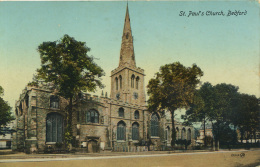 BEDS - BEDFORD - ST PAUL'S CHURCH  Bd190 - Bedford