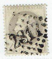 52 Cérès Dentelé IIIème République  Cachet 2817 - 1871-1875 Ceres