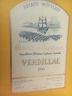 8394 - Verdillac 1983 - Bordeaux