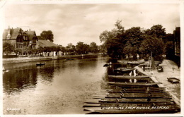 BEDS - BEDFORD - RIVER OUSE FROM BRIDGE RP  Bd119 - Bedford