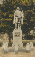BEDS - BEDFORD - BUNYAN'S STATUE Bd154 - Bedford
