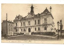 """69-10 - Oullins - L' Hôtel De Ville ( N°3) """"Pub Bougie Macquaire"""" Au Verso - Oullins"""