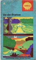 CARTE ROUTIERE CARTOGUIDE SHELL BERRE-FRANCE Ile De France - Roadmaps