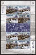 Bosnia Croatia 2018 Europa CEPT, Bridges, Bruecken Ponts, Architecture, Mini Sheet MNH - 2018