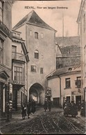 ! Alte Ansichtskarte Reval, Tallinn, Tor Am Langen Domberg,  Lettland, Latvia - Latvia