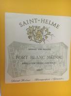8418 - Fort Blanc Médoc 1967 Saint-Helme - Bordeaux