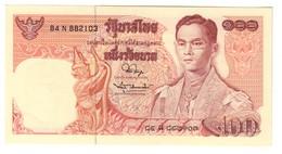 Thailand 100 Baht 1967-78 Pick 85 UNC - Tailandia