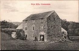 ! Alte Ansichtskarte Bryn Mills, Llansannan, Wales - Pays De Galles