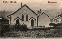 ! Alte Ansichtskarte Baptist Church, Llansannan, Wales - Pays De Galles