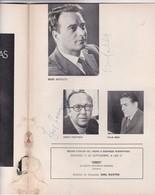 EL ANGEL DE FUEGO, DE SERGEI PROKOFIEV. TEATRO COLON 1971. PROGRAMA COMPLETO AUTOGRAFOS SIGNEE SIGNATURE.-BLEUP - Autógrafos
