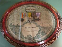 CADRE SOUVENIR D'UN SOLDAT DE L'AVIATION EN 1914/18 !!! - 1914-18