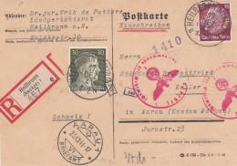 Deutsches Reich R Postkarte 1941 - Germany