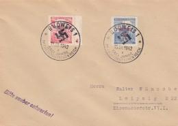 Deutsches Reich Bohmen Und Mahren Brief 1942 3 Jahre Reich - Non Classés