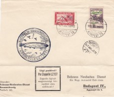 Hungary Zeppelin Brief 1931 - Hongrie