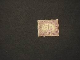 HONG KONG - TASSE - 1965/9 BILANCIA 10 C. - TIMBRATOUSED - Hong Kong (...-1997)