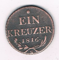 1 KREUZER 1816 S OOSTENRIJK/3288G/ - Autriche