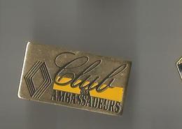 Pin's Club Des Ambassadeurs (Renault) - Renault