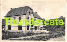 CPA HOTEL RESTAURANT PENSION AU BEAU SITE MONT DE L'ENCLUS AMOUGIES - Kluisbergen