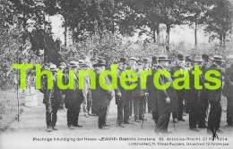 CPA PLECHTIGUE INHULDIGING DER HOEVE JEANNE GESTICHT JOOSTENS ST ANTONIUS BRECHT 21 MEI 1914 - Brecht