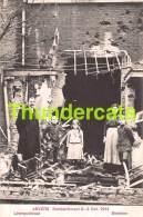 CPA ANTWERPEN ANVERS BOMBARDEMENT 1914 LEEMPUTSTRAAT BERCHEM - Antwerpen