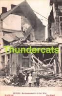 CPA ANTWERPEN ANVERS BOMBARDEMENT 1914 BRANTSTRAAT - Antwerpen