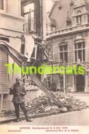 CPA ANTWERPEN ANVERS BOMBARDEMENT 1914 STATIESTRAAT BERCHEM - Antwerpen