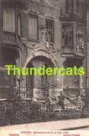 CPA ANTWERPEN ANVERS BOMBARDEMENT 1914 COGELSLEI - Antwerpen