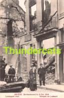 CPA ANTWERPEN ANVERS BOMBARDEMENT 1914 LOMBAARDE VEST - Antwerpen