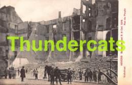 CPA ANTWERPEN ANVERS BOMBARDEMENT 1914 VOLKSTRAAT - Antwerpen