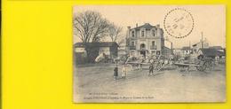 COUTRAS Rare Place Et Avenue De La Gare (Guillier) Gironde (33) - Sonstige Gemeinden