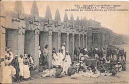 SOUDAN - BANDIAGARA - Perception De L'Impôt En Nature (tissus De Coton Indigène) - Sudan