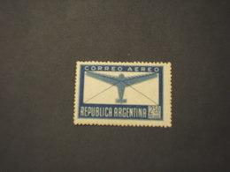 ARGENTINA - POSTA AEREA - 1945/7 AEREO 2,50 P. - NUOVO(++) - Posta Aerea