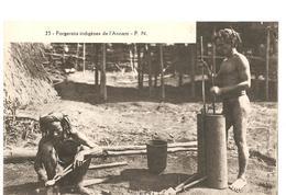 CPA Indochine Forgerons Indigènes De L'Annam - Cartes Postales