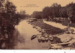 94-CHAMPIGNY- LE QUAI PRES DU PONT - Champigny Sur Marne