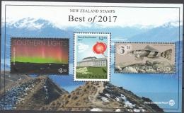 New Zealand 2017 Bloc Feuillet Meilleurs Timbres De L'année Neuf ** - Blocs-feuillets