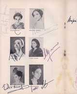 EL LAGO DE LOS CISNES, TCHAIKOVSKY. AUTOGRAPHS WASIL TUPIN-ESMERALDA AGOGLIA-M ARGENTO-BLEUP - Autographes
