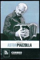 Argentina - Volante FDC Homenaje A Astor Piazzolla (emisión Año 2018) - FDC
